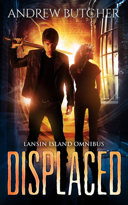 Displaced: Lansin Island Paranormal Mysteries Books 1-3 - Andrew Butcher